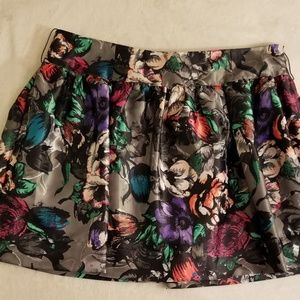 Candie's Floral Mini-Skirt-Sz 7-NWOT-MSRP-$36